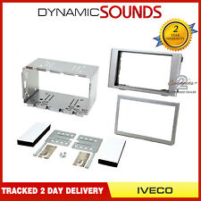 Sound-way Car stereo Radio Fascia frame 2 DIN for IVECO Daily