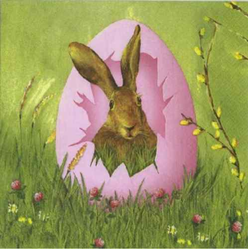 Serviettes en papier Easter outlook Pâques