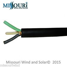 14 Foot Length 3-Phase Wind Turbine Cable High Output 10/3