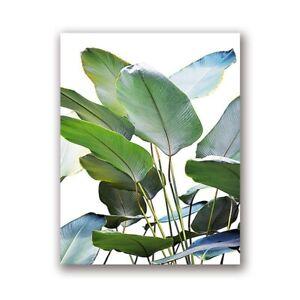palm leaf tropical wall art banana tree banana leaf print palm leaf banana leaf banana leaf poster palm leaf print green wall art