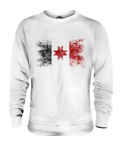 UDMURTIA DISTRESSED FLAG UNISEX SWEATER TOP FOOTBALL GIFT SHIRT CLOTHING JERSEY