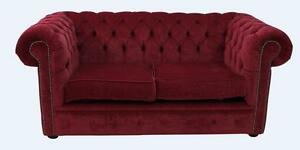 Chesterfield-Original-England-2-Seater-Pimlico-Wine-Fabric-Sofa-Settee