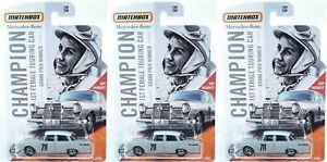 Mercedes-Benz-220-Se-Winner-Grand-Prix-Ewy-Rosqvist-Set-3-Pcs-1-64-Matchbox-Lon
