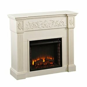 Find great deals for Southern Enterprises Fe9279 Calvert Carved Electric Fireplace - Ivory. Shop with confidence on eBay!