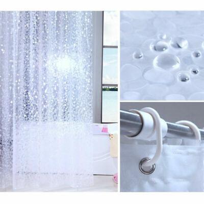 12PCS klare Silikon Kautschuk Duschvorhang Ringe Ersatz für Duschvorhang