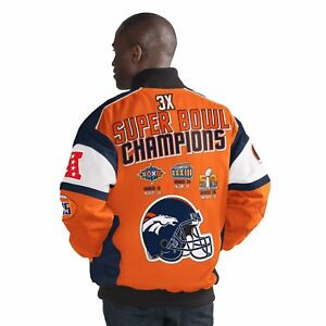 8c52182617d Denver Broncos G-III Legacy 3 Time Super Bowl Champions Cotton Twill ...