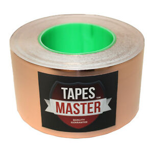"""3"""" x 55 yds (76mmx50m) Copper Foil Tape / EMI Conductive Adhesive /Ship from USA"""