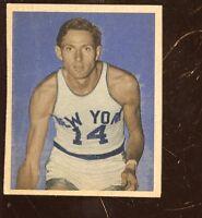 1948 Bowman Basketball Card HIGH #64 Tommy Byrnes Rookie