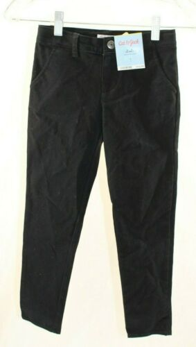 Girls/' Twill Pants Cat /& Jack  Black
