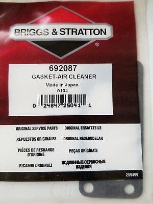 GENUINE BRIGGS /& STRATTON AIR FILTER CLEANER GASKET 271755 270488 NEW OEM —B1