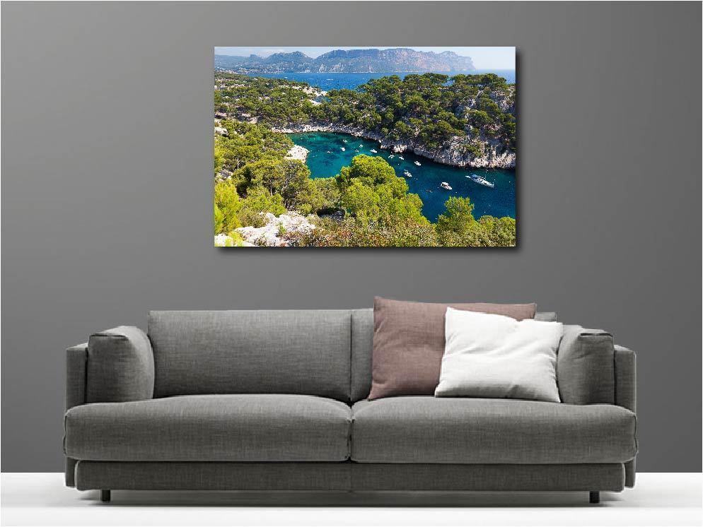 Gemälde Gemälde Deko Set Geländewagen auf das Meer Ref 84551434