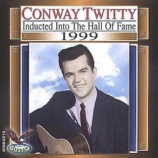 Country Music Hall of Fame: 1999 by Conway Twitty (CD, Jun-2003, Gusto Records)
