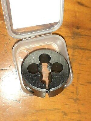 """HSS OD 1/"""" split screw adjustable Die button M2 UNS UNEF 7//16/"""" X 24  RH TS"""