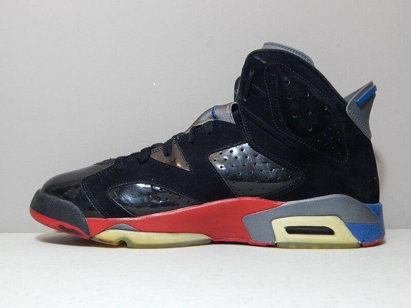 outlet store 1cbe6 b6554 ... Nike Nike Nike Shoes - 2009 Jordan 6 VI Detroit Pistons - Black Red  Bred Blue ...