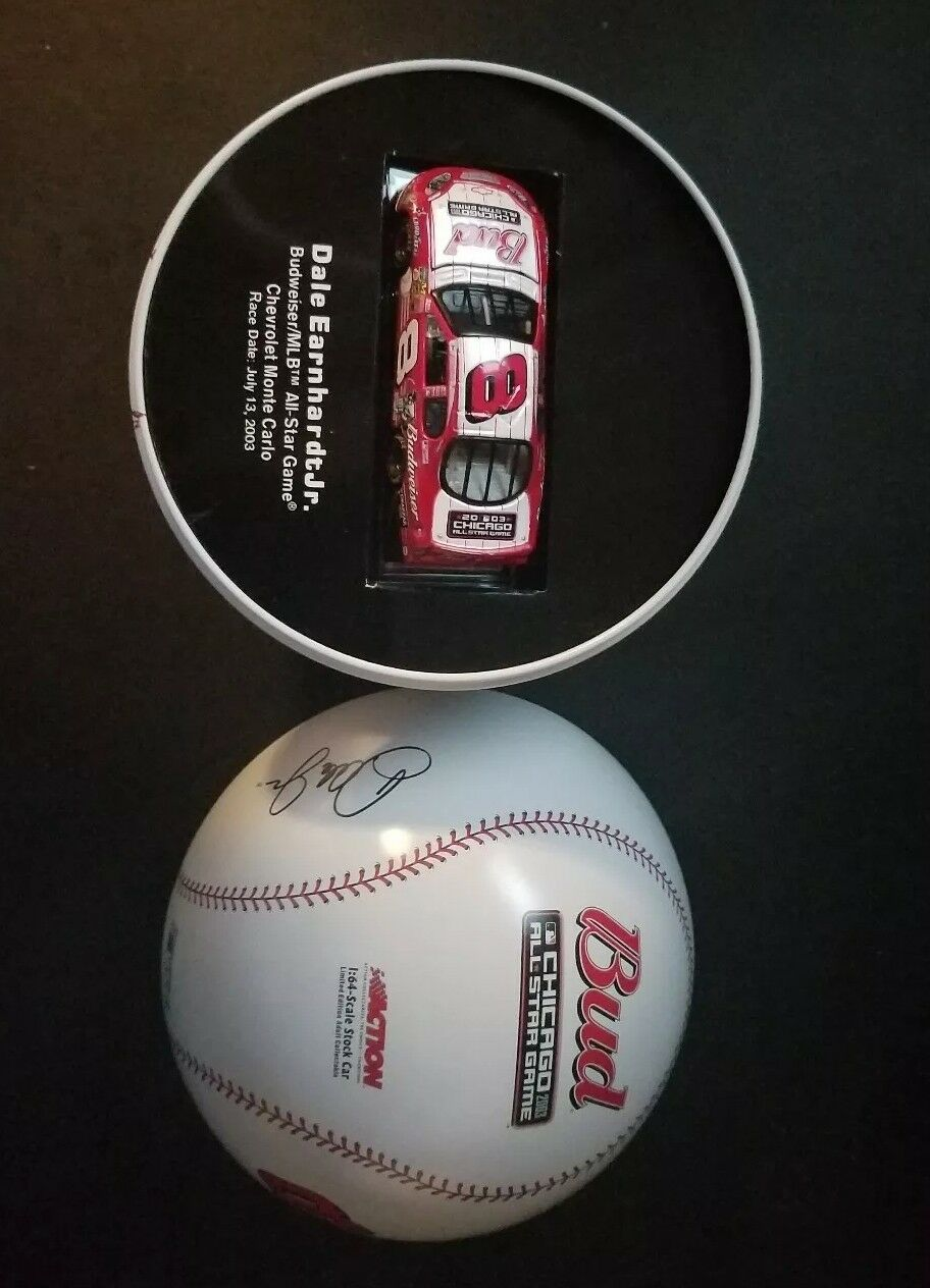 2003 Dale Earnhardt Jr. Die Cast Budweiser MLB All Star Game Car in Baseball