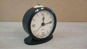 Vintage-Bakelite-Alarm-Clock-SEVANI-1960-70s-USSR-Works