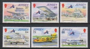 Jersey-2012-Jersey-Aviation-Histoire-11th-Series-Ensemble-MNH-Sg-1643-8