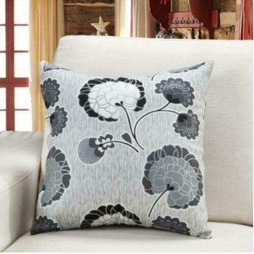 Soft Europe Style Flower Pillowcase Cushion Case Home Decoration For Living Room