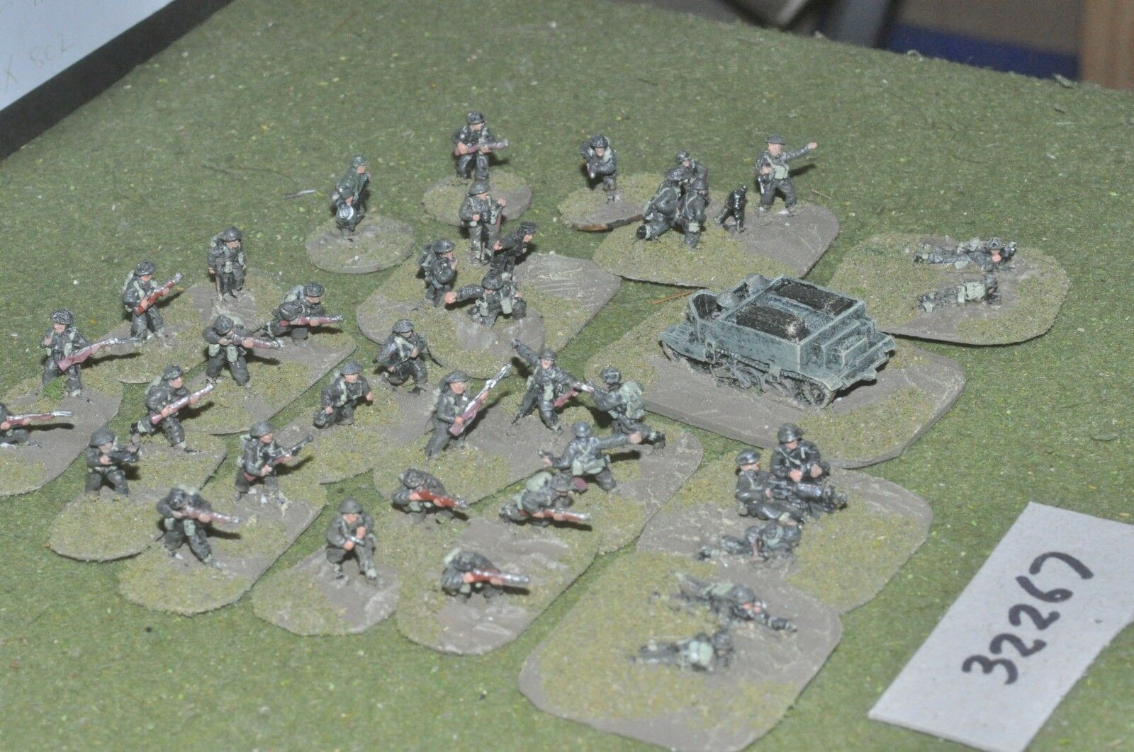 15mm WW2   british - section (as photo) - inf (32267)