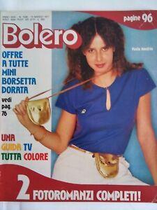 Bolero1558 Paola Manfrin Barry White Antonelli Raquel Welch Salvetti Salvino