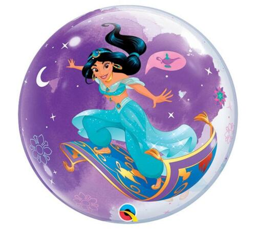 Aladdin Magic Carpet Bubble Balloon Girls Birthday Party Decoration Jasmine ~1ct