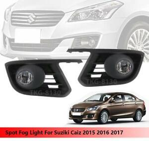 Fog Lights Lamp Kit Use For Suzuki Ciaz 2015 2016 2017 2018