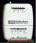Suburban RV Camper Motorhome 12 Volt DC Furnace Wall Thermostat Black 161210