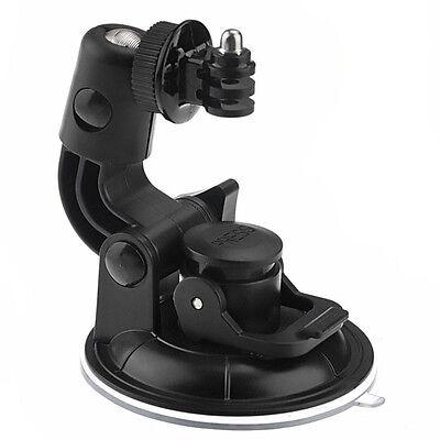 """Suction Cup Mount + 1/4"""" Tripod & Nut For GoPro HD Hero 4 3 3+ 2 1 SJ4000 SJCAM"""