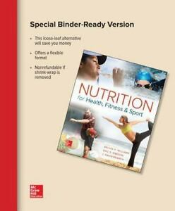 Nutrition For Health Fitness And Sport 10th Edition Pdf