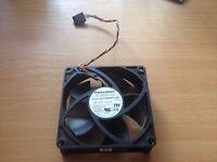 Foxconn PVA080F12H 8020 80mm x 80mm x 20mm Internal Cooling Fan 12V 0.36A 4Pin