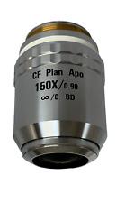 Nikon Cf Plan Apo 150x 090 Bd Infinity Corrected Microscope Objective Lens