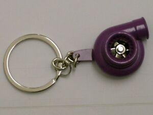 Diszipliniert Burstflow Schlüsselanhänger Tuning Racing Turbolader Turbo Lilaviolett Purple 23 Hindernis Entfernen Auto & Motorrad: Teile