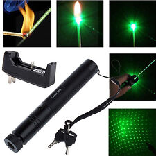 532nm 5mw 303 Green Laser Pointer Lazer Pen Beam+Charger Modish