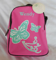 Pottery Barn Kids Butterfly Pink My First Backpack With Tag Pre-k wendy