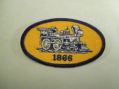 Model Railroader Vintage Locomotive Iron On Patch