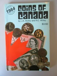 1984-Coins-of-Canada-by-J-A-Haxby-amp-R-C-Willey-1984-The-United-Press