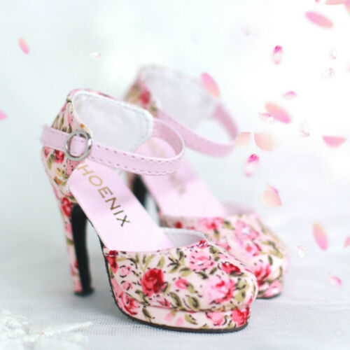 1//3 BJD Shoes SD16 Floral Shoes High Heels Sandal for BJD DOLL AOD DF LUTS DIKA