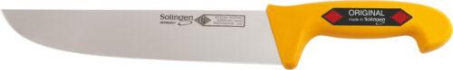Solingen ® eikaso ® viande couteau/bloc couteau 31 cm, lame large, raide