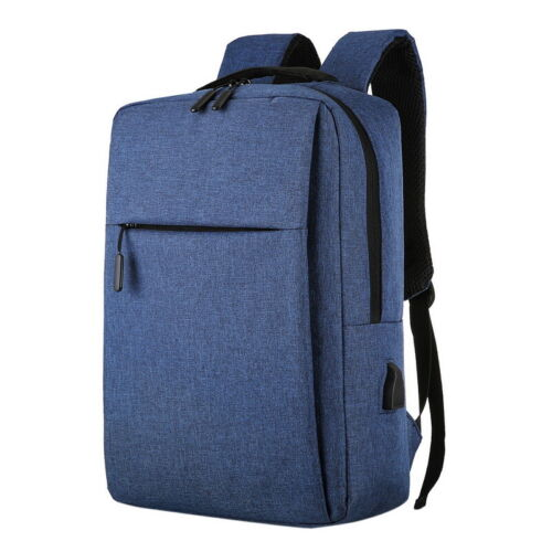 Unisex Anti Theft USB Charging Port Travel Laptop Bags Business School Backpack