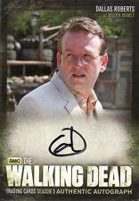 Walking Dead Season 3 Part 2 Dallas Roberts as Milton Mamet A15 Auto Card