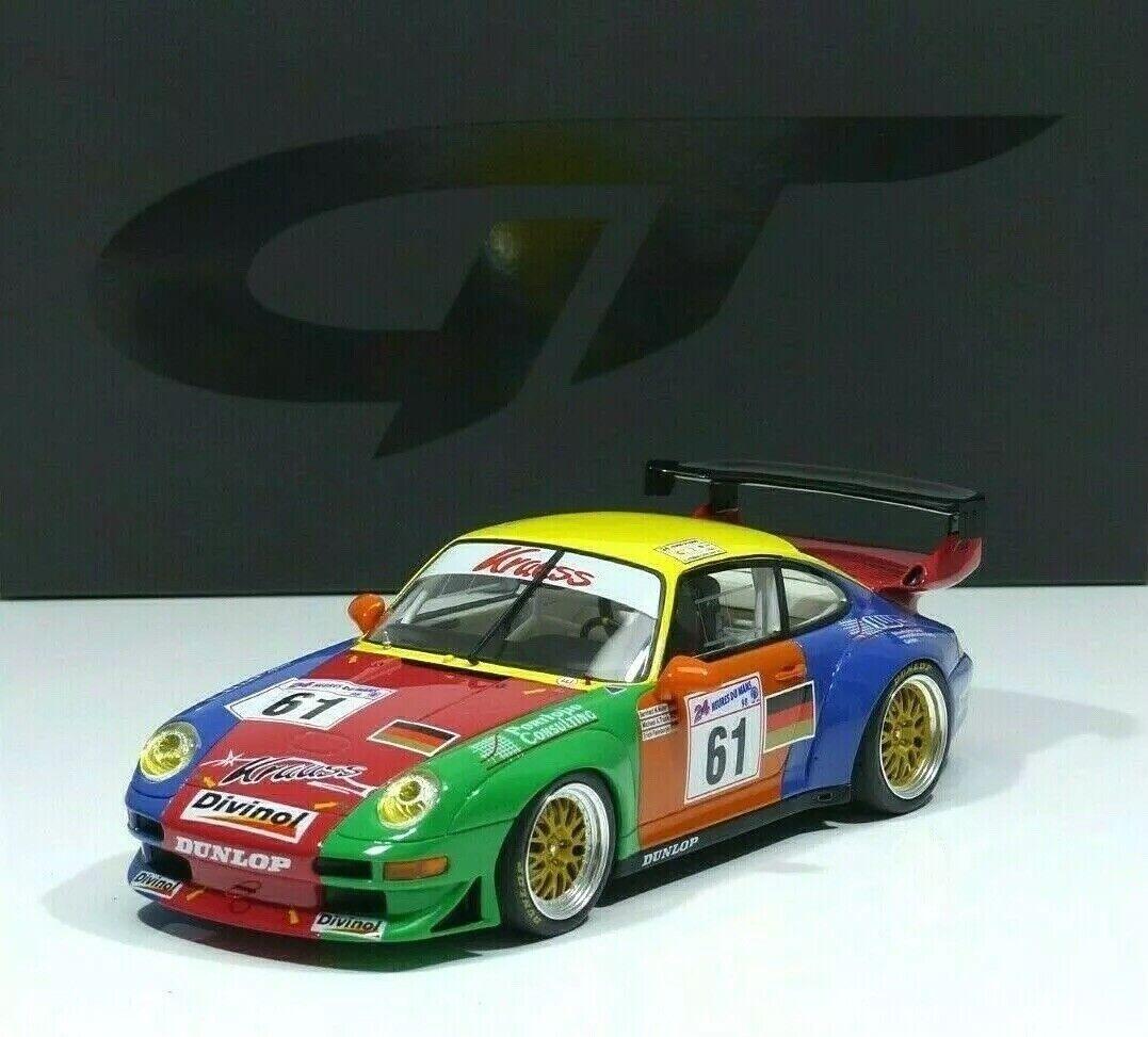 60% de descuento Porsche 911 993 gt2 Team Krauss  61 61 61 muller 24h le mans 1998 gt754 GT Spirit 1 18  cómodamente