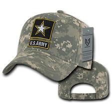 United States Army Star US Universal Digital Camo Cotton Baseball Ball Caps Hats