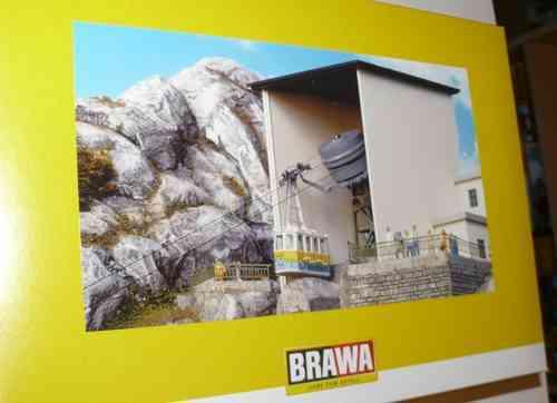 SH Brawa 6341 cuerno de niebla edificio ferroviario kit nueva de fábrica