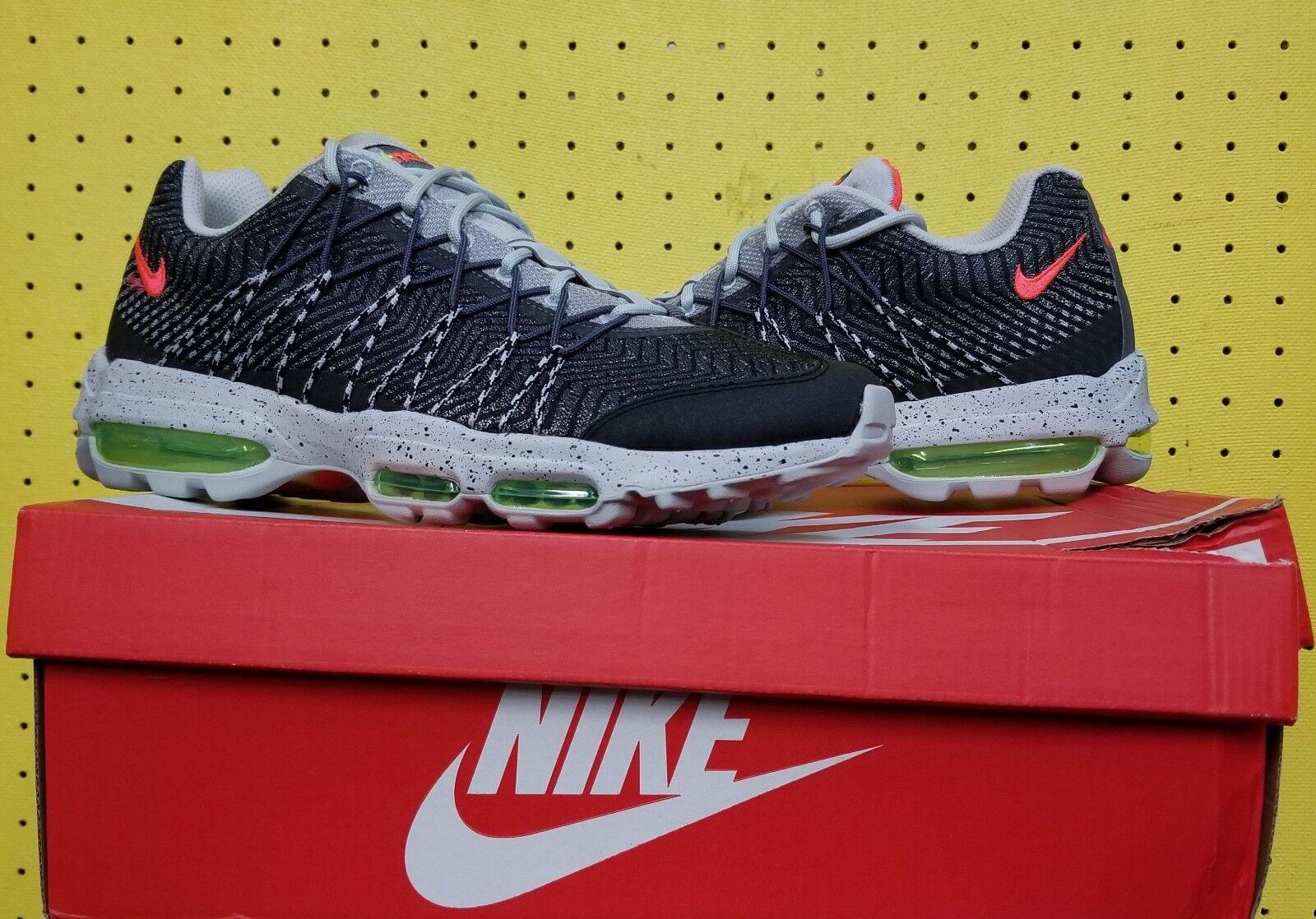 Nike air max brand new uomini 95 ultra jcrd sz 10 volt argento crimson 749771 006