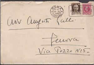 Italia-Regno-20-c-marca-da-bollo-rossa-con-30c-imperiale-su-lettera1926-da-Roma