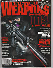 TACTICAL WEAPONS MAGAZINE MAY 2013,MULTI-MISSION M4 COLT LE901 7.62/5.56.