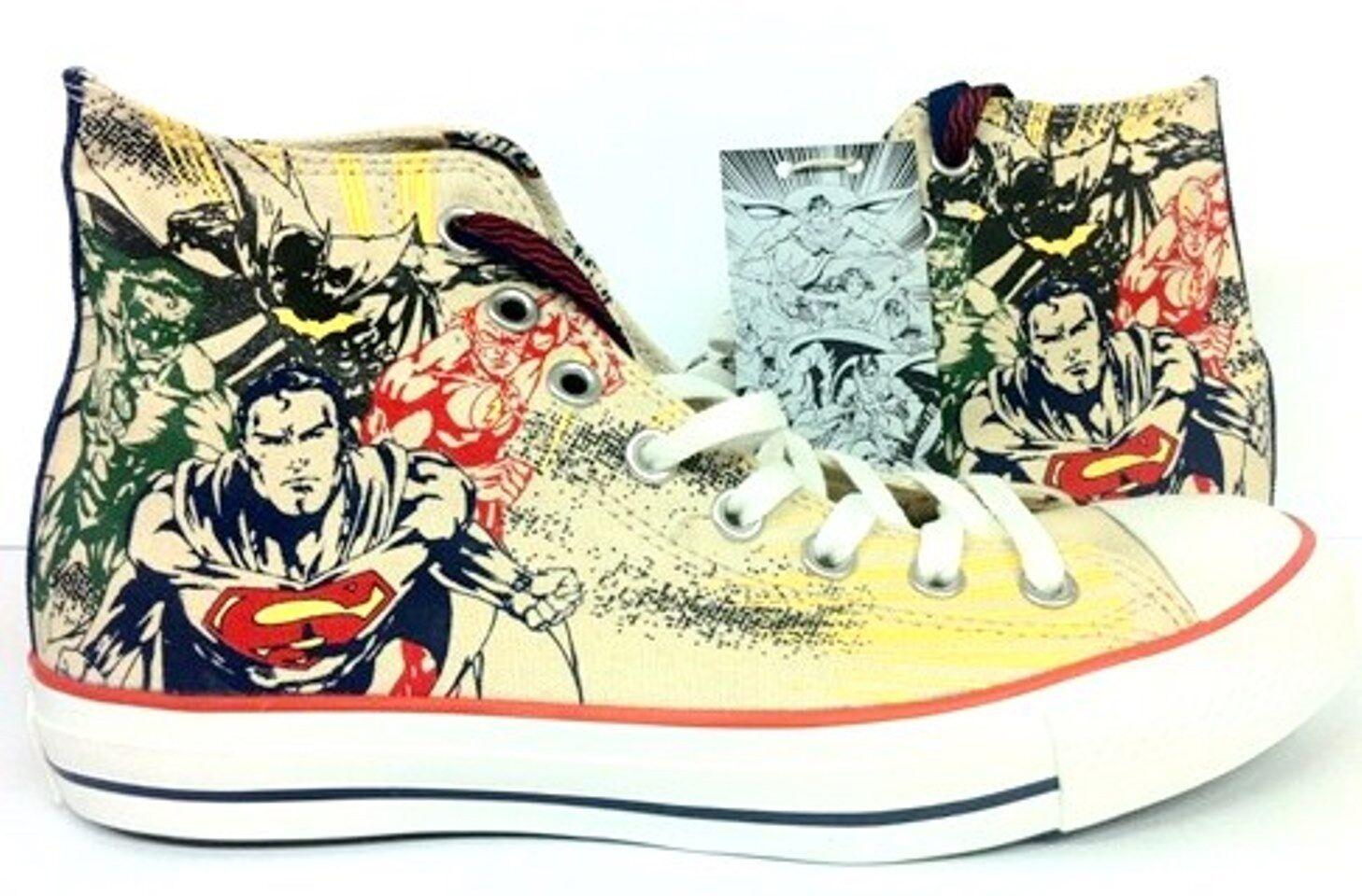 Nuova Conversazione All Star Chuck Taylor DC Comics Superman Batman Khaki scarpe 132440C