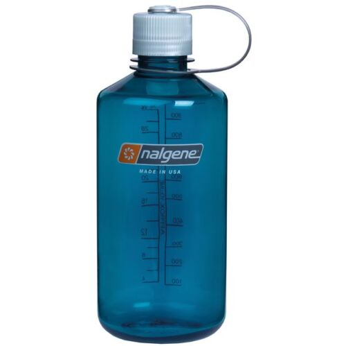 NALGENE Water bottle 1l Narrow Mouth Trinkflasche Trout Green NO BPA  NEUE FARBE