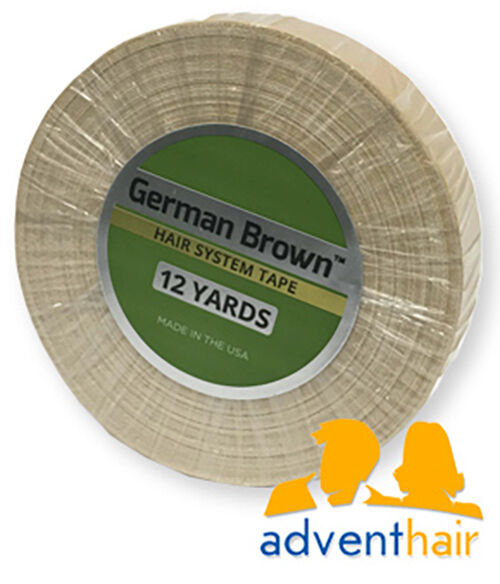 "German Brown Liner Cloth Tape Roll 3/4"" x 12 yds WALKER wig toupee hairpiece"