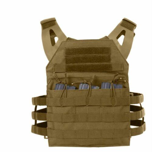 Rothco Lightweight Armor Plate Carrier Vest Multicam-Black-Olive Drab-Brown